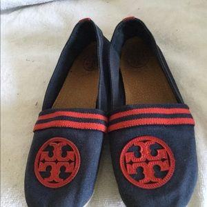 Authentic Tory Burch women's ballet flats shoes 6M